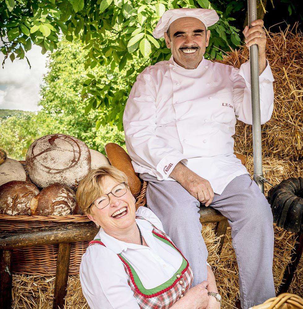 Die Bäckerfamilie - Ursula und Karl-Heinz Carra
