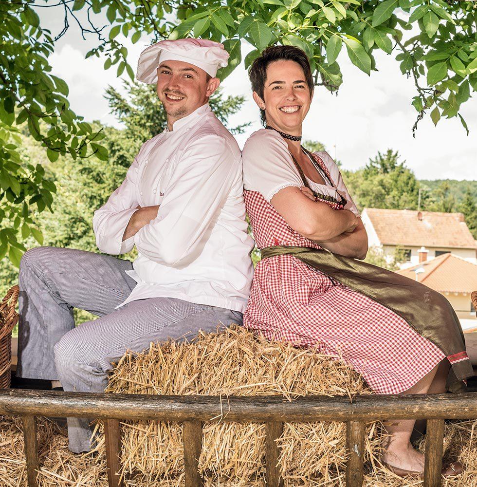 Die Bäckerfamilie - Paul Carra und Petra Kunz