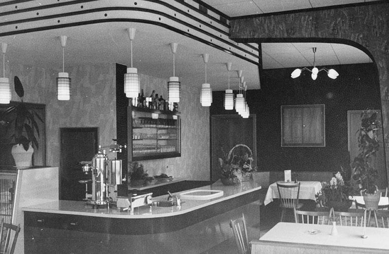 Kissel 1960-1978 - Die neue Bäckerei mit Cafe