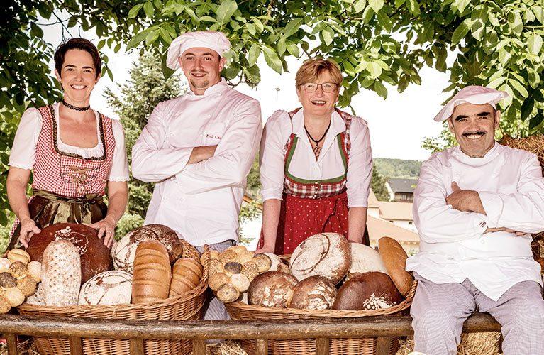 Die Bäckerfamilie Kissel: Familie Carra & Kunz
